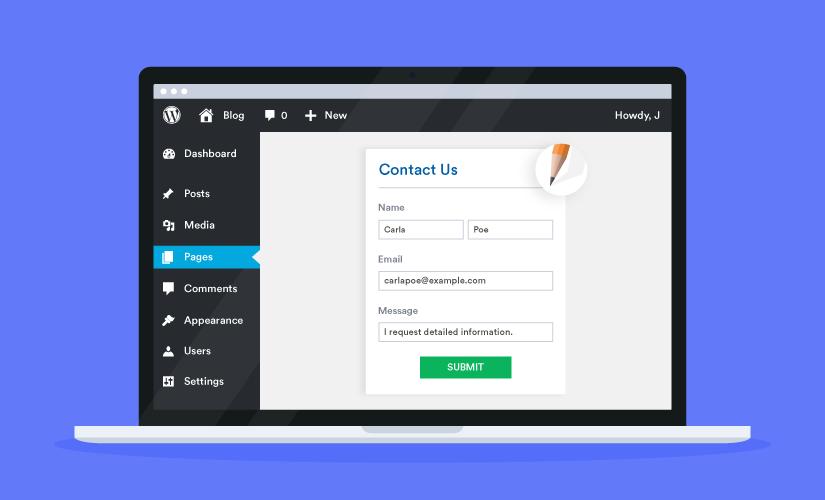 Embed Form Plugin for WordPress