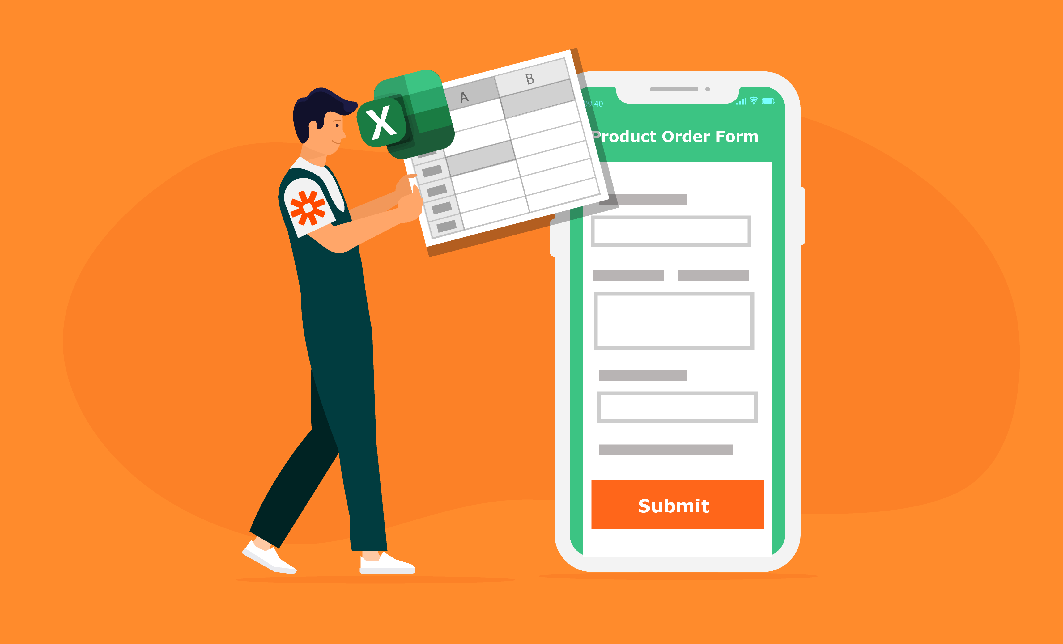 Connect Your Forms to Excel with Zapier
