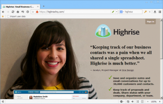 Easy Contact Management with Highrise