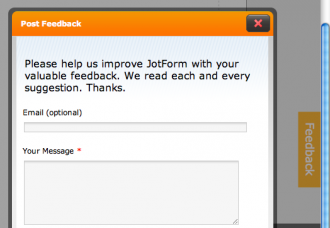 Story of a Feature: JotForm Feedback Buttons for Web Sites