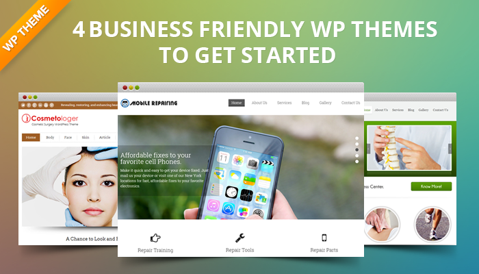 4  WordPress Themes For Your Business Website