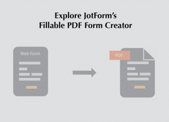 How to Create a Fillable PDF Form using JotForm