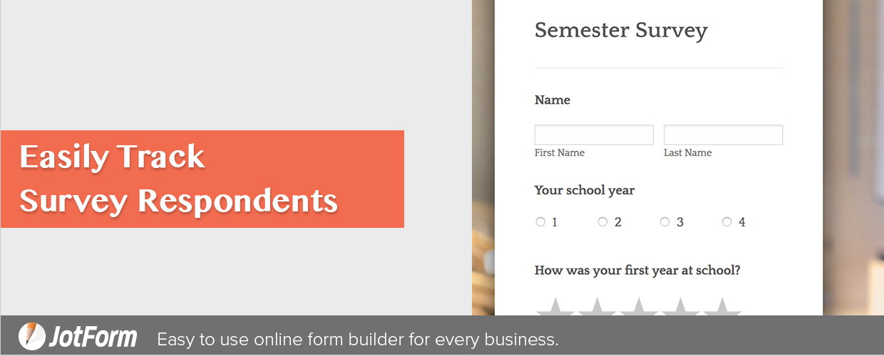 Easily Track Survey Respondents with Online Forms