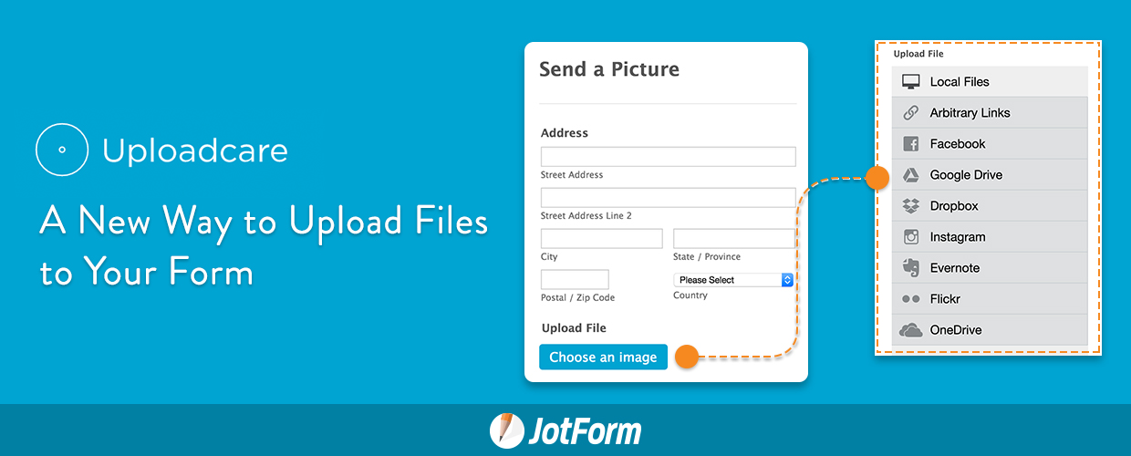 Uploadcare: A New Way to Upload Files to Your Form
