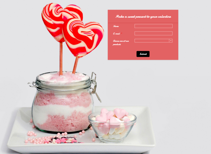 You'll Fall in Love With These 3 Fun Valentine's Day Form Ideas
