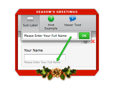 A Christmas Gift: Sub labels for everyone