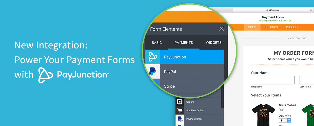 New Integration: Power Your Payment Forms with PayJunction
