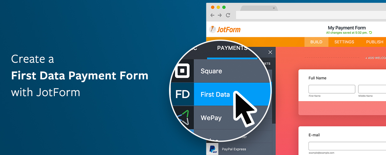 New Integration: Collect Payments with a First Data Payeezy Form