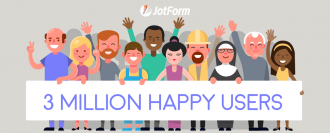 JotForm Celebrates 3 Million Users!
