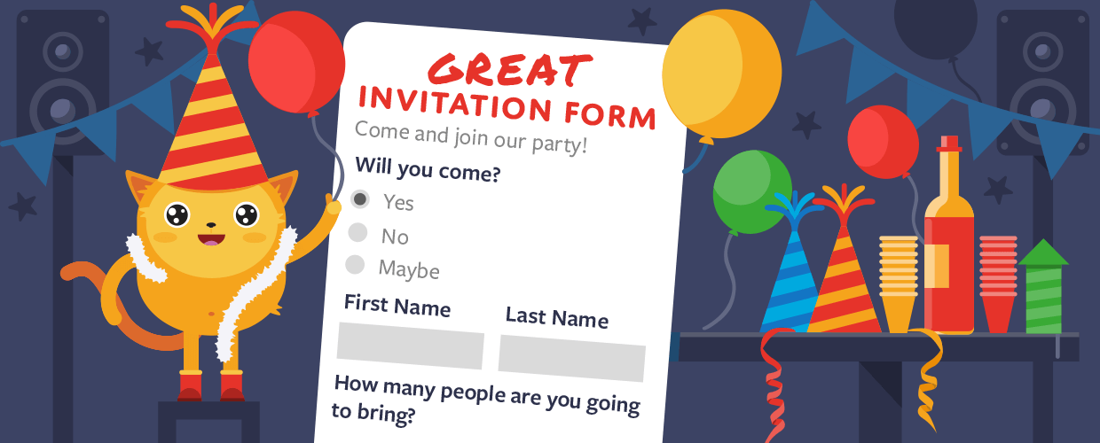 How to Create a Great Invitation Form for Your Company Holiday Party