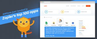 JotForm just landed in Zapier's top 100 apps