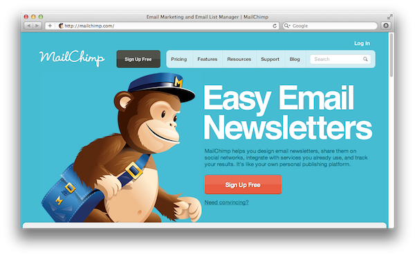 mailchimp is a great tool to send email newsletters the jotform blog