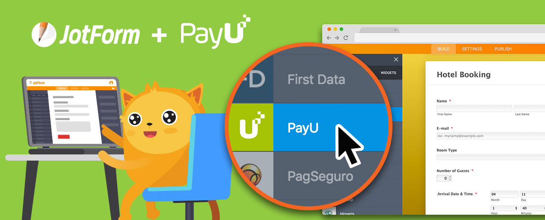 New Integration: Collect PayU Payments Through JotForm