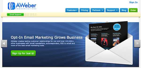 Email Marketing Campaigns with AWeber and JotForm