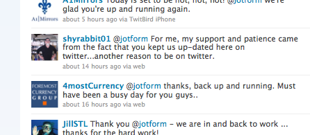 Massive Distributed Denial of Service Attack on JotForm