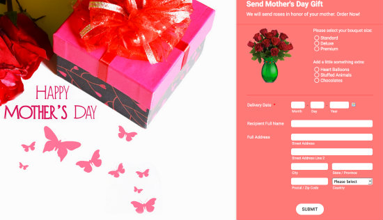 Celebrate Mother's Day with Beautiful JotForm Themes