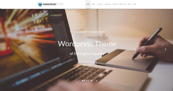 Monstroid: The Next Generation WordPress Theme