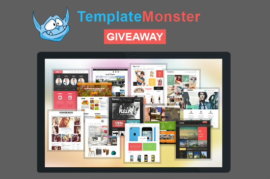 TemplateMonster is Giving Away 7 Themes of Your Choice!