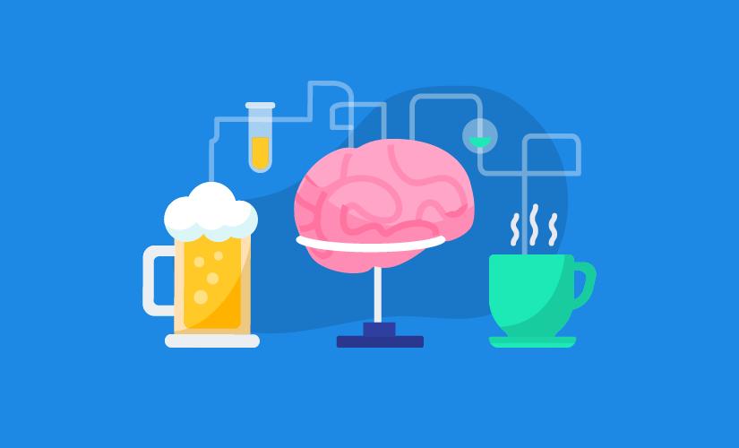 Kafeinin ve alkolün beyniniz üzerindeki etkisi
