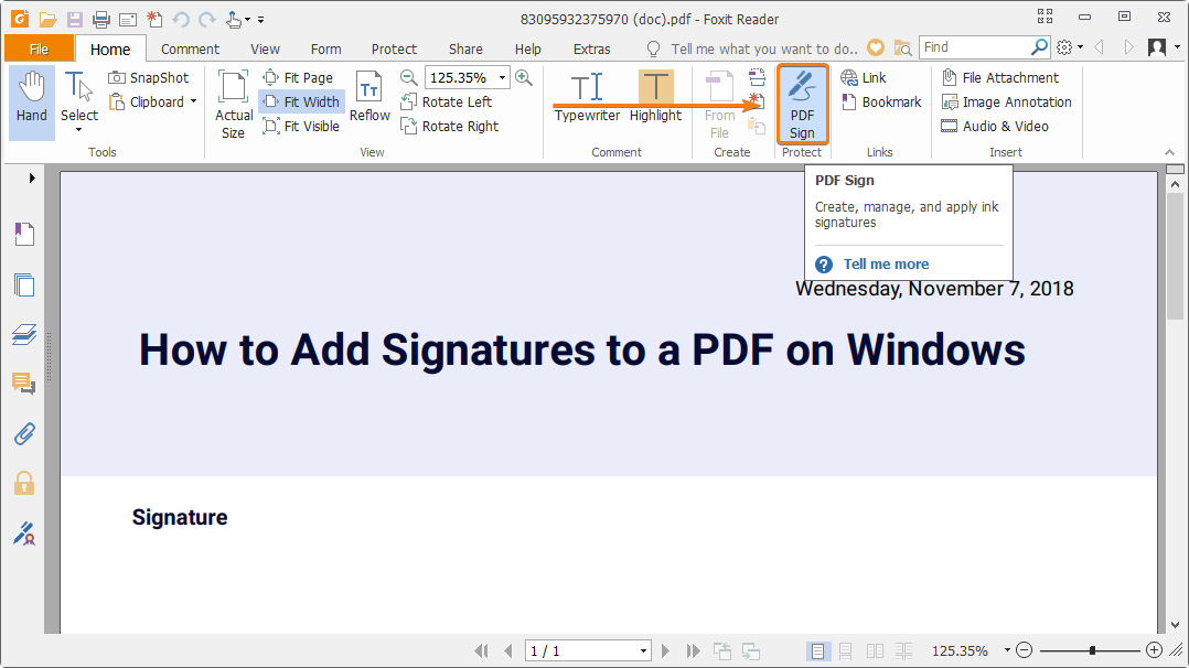 How to add a signature to a PDF | The JotForm Blog