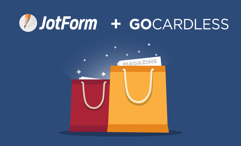 Accept direct debit payments with JotForm and GoCardless