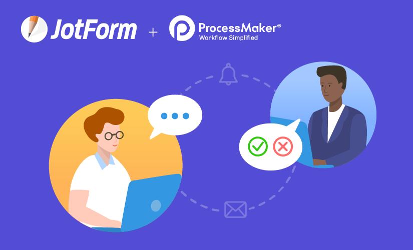 New integration: Create JotForm workflows with ProcessMaker