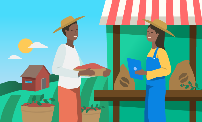 How Fair Trade USA easily communicates information to colleagues and partners