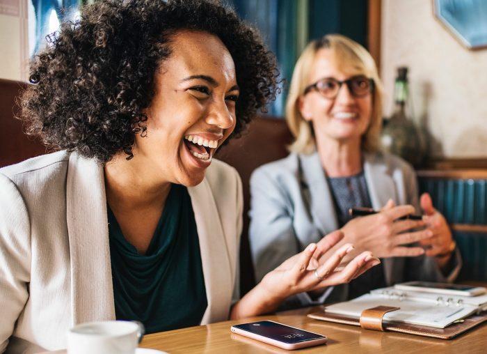 Laughter avoid boring meetings