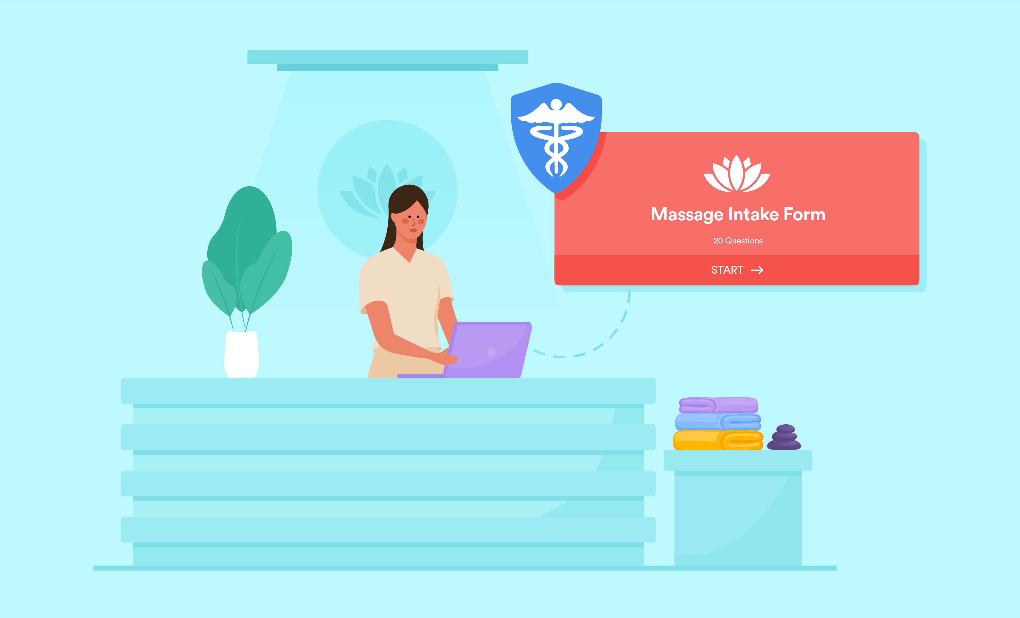 How to make your massage intake forms HIPAA compliant and clear