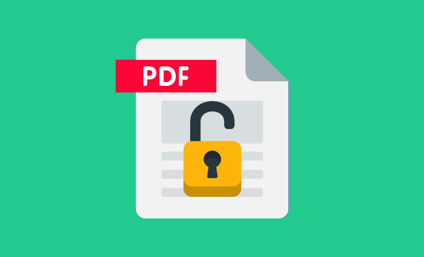 Password remove tools from PDF