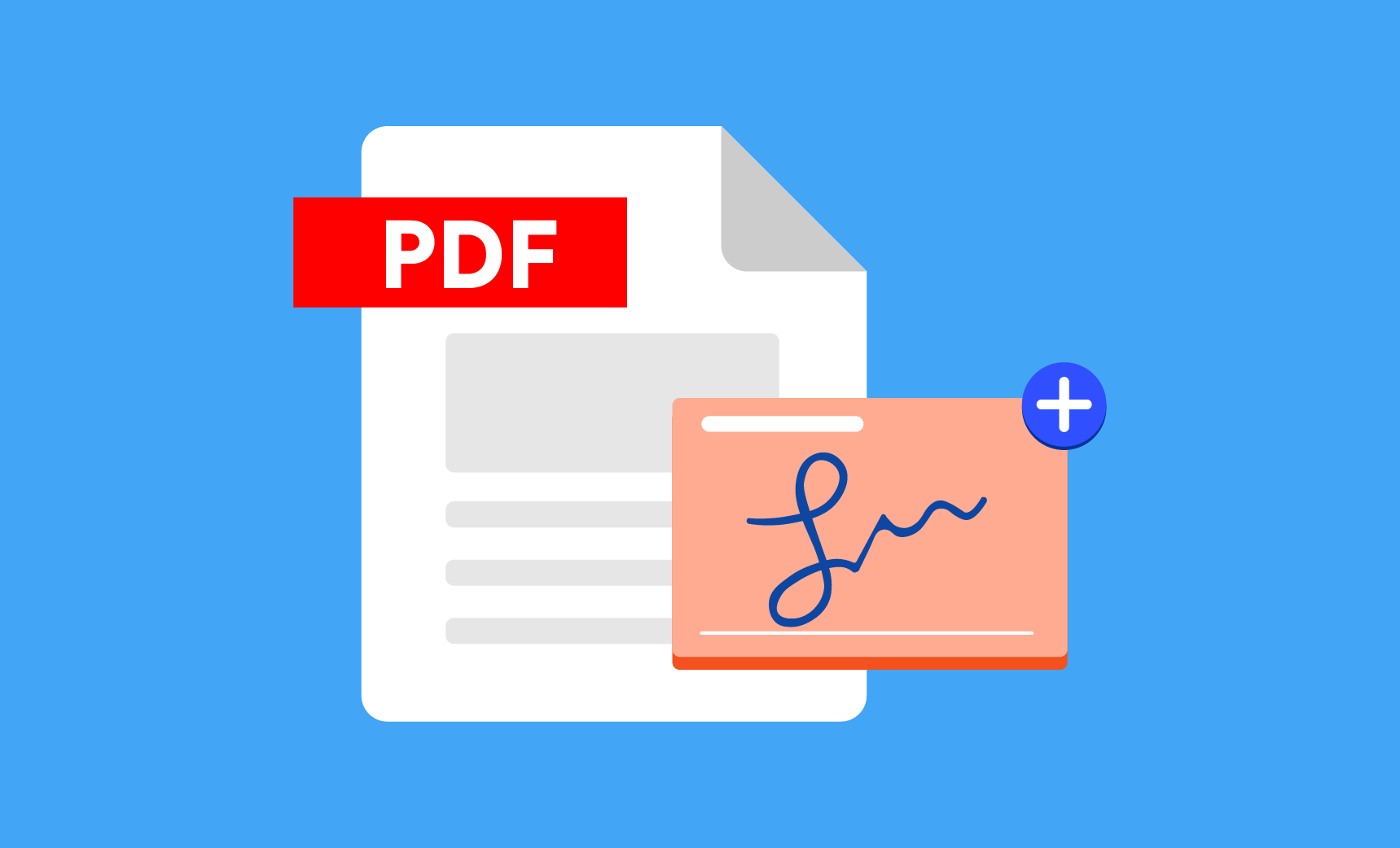 How to add a signature to a PDF