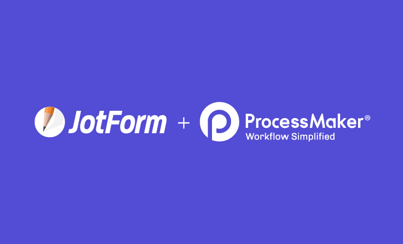 Think beyond your workflow with JotForm + ProcessMaker