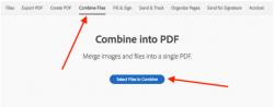 Combine files, Adobe