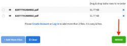 Merge files, Merge PDF