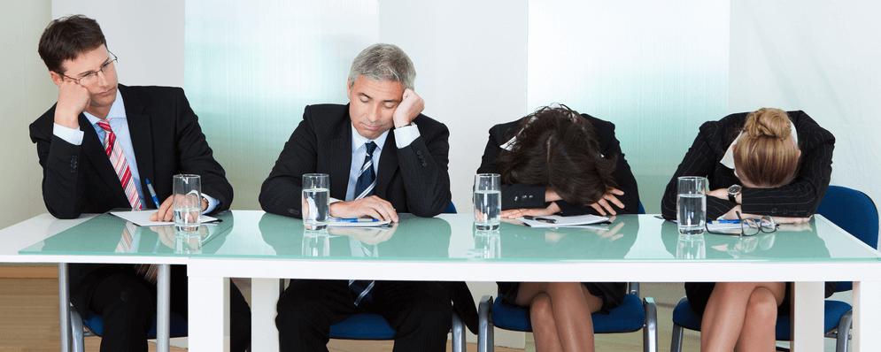 Avoid boring meetings survey