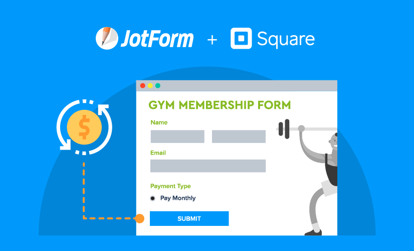 Recurring Square payments through Jotform