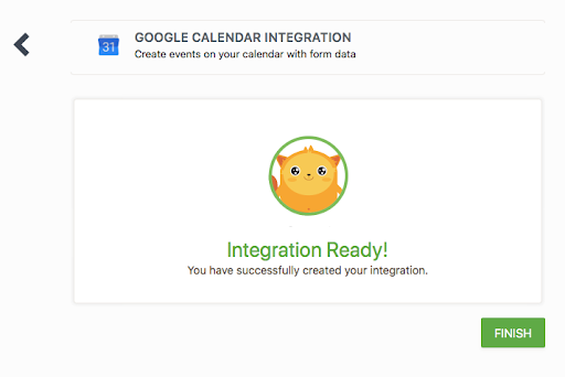 google calendar integration jotform