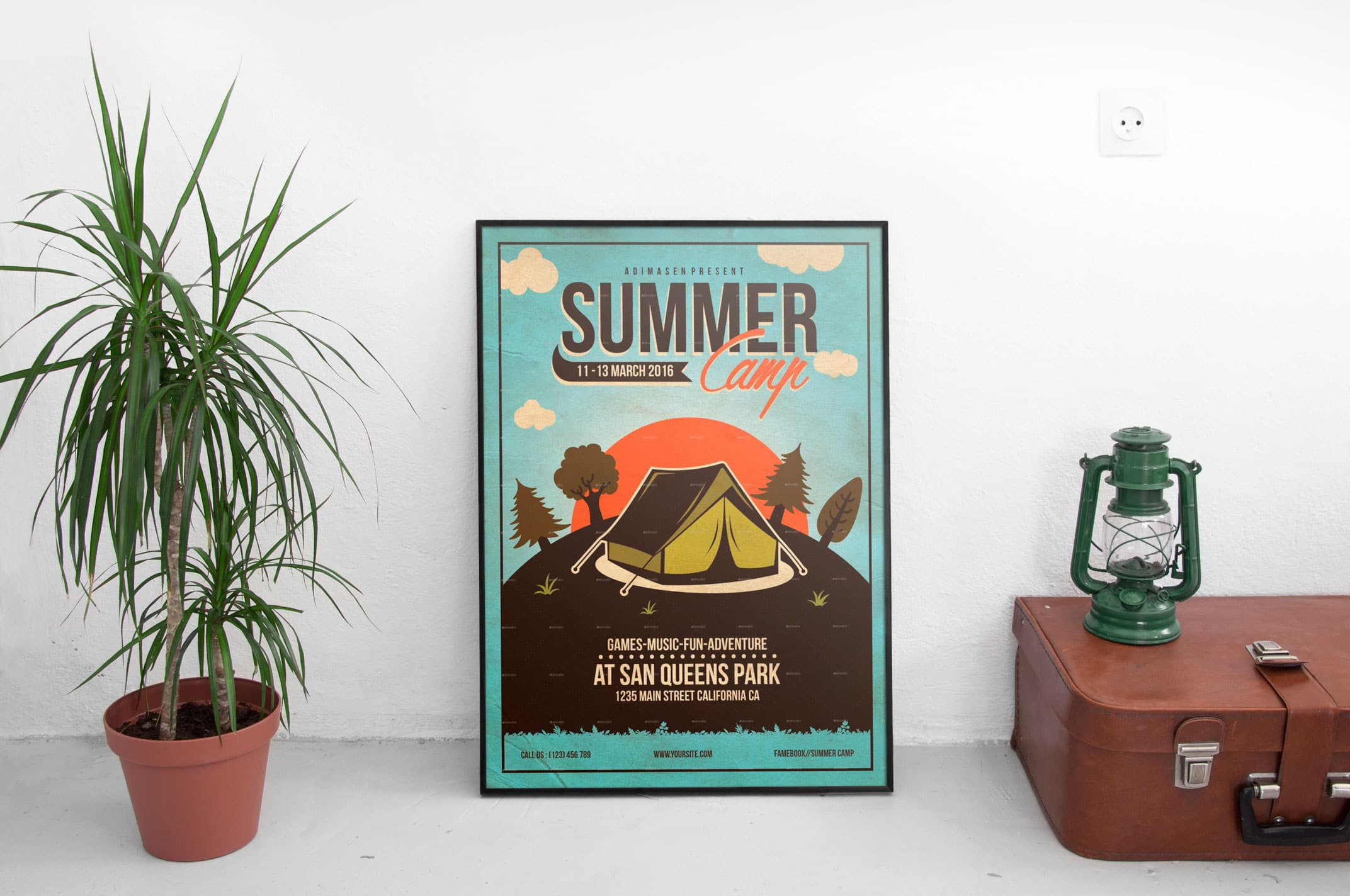 Summer Camp Flyer Templates