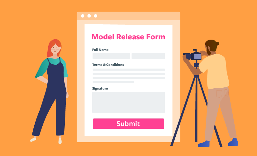 How to make a perfect model release form