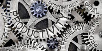Are productivity and efficiency the same thing?
