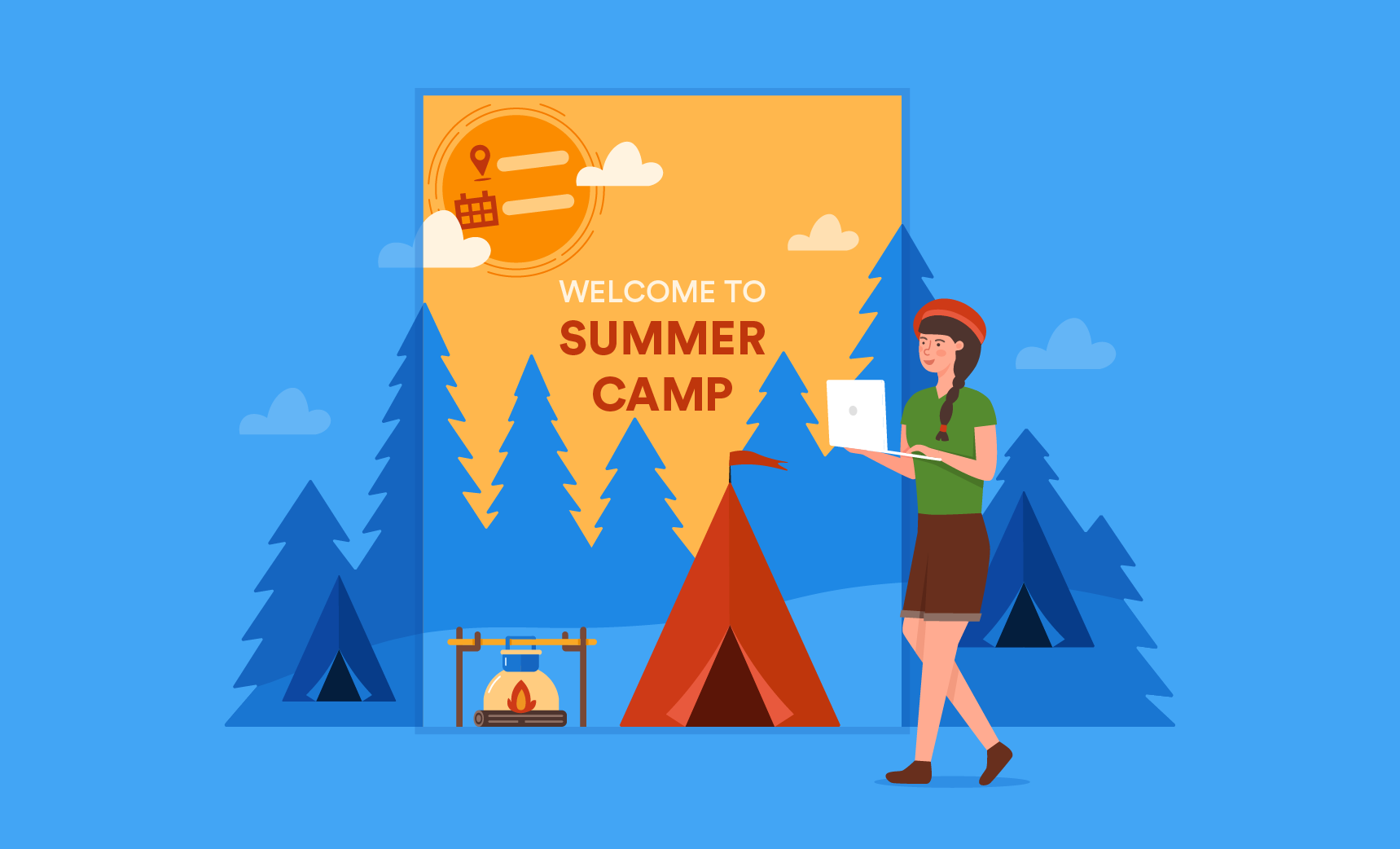 Summer Camp Flyer Template Word from www.jotform.com