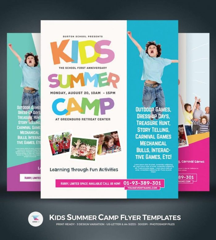 10 beautiful summer camp flyer templates | The JotForm Blog