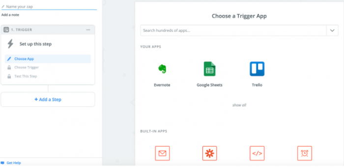 how to use Zapier