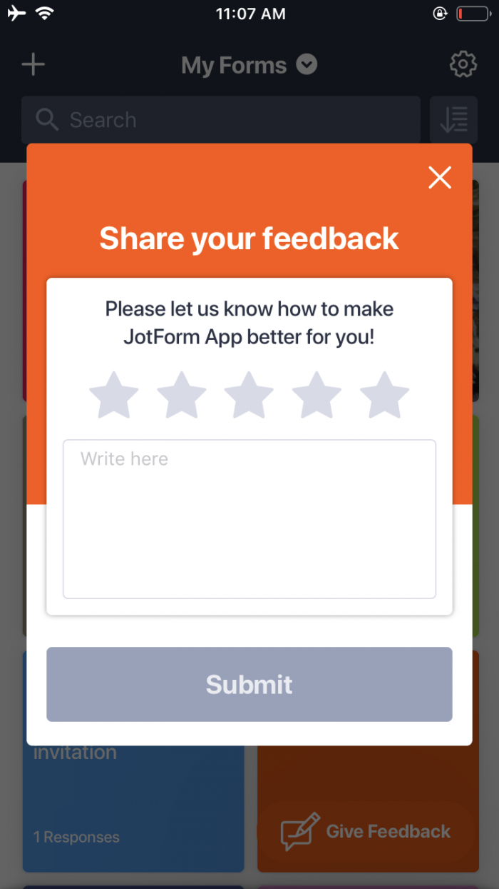 Introducing JotForm Mobile Forms