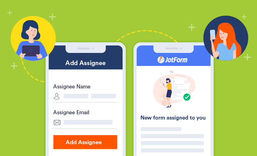 Use JotForm Mobile Forms to assign forms with ease