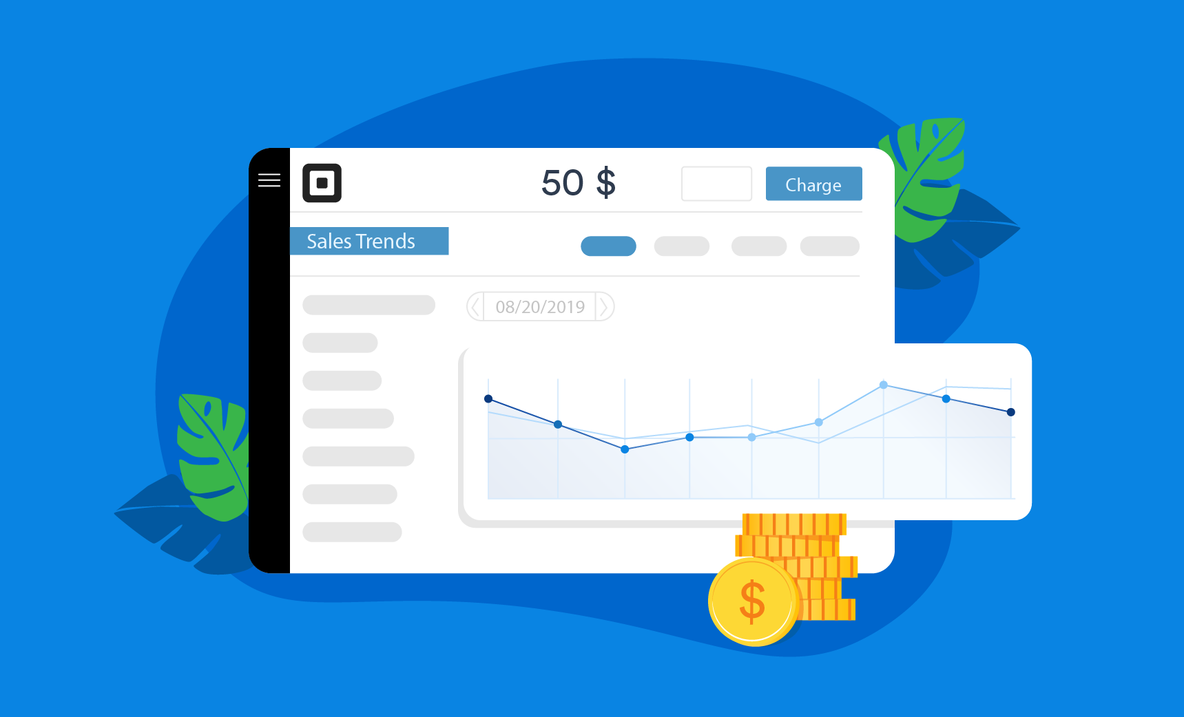 The basic and high-level features of Square Dashboard