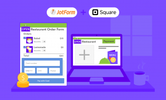 embed Square payment form on your website with JotForm