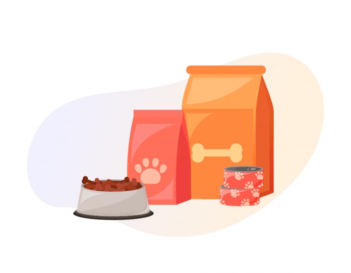 Donated animal foods