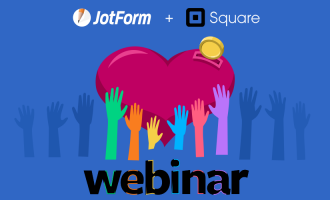 Webinar: How to prepare for giving season with JotForm + Square