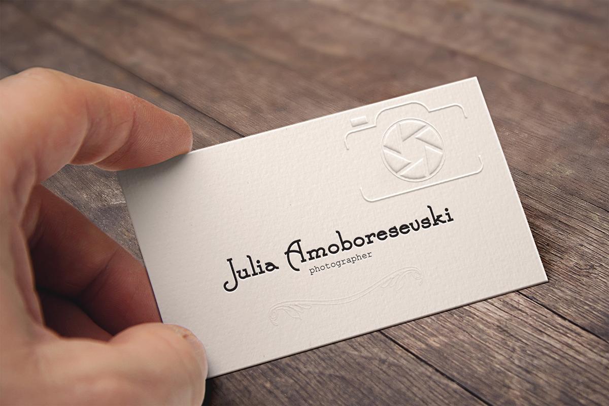photography b card